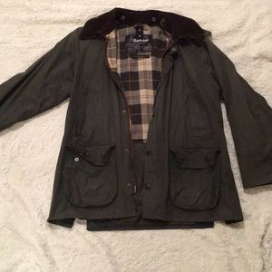 Used Barbour jacket size 38